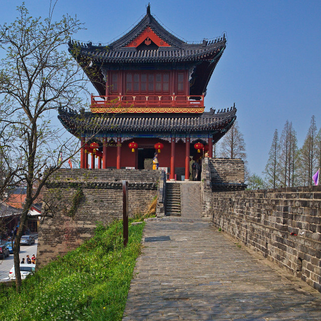 """""""Ancient Wuhan"""" stock image"""