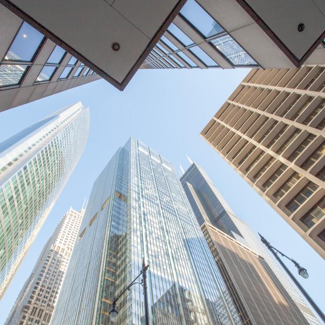 """""""Skyscraper Heaven"""" stock image"""