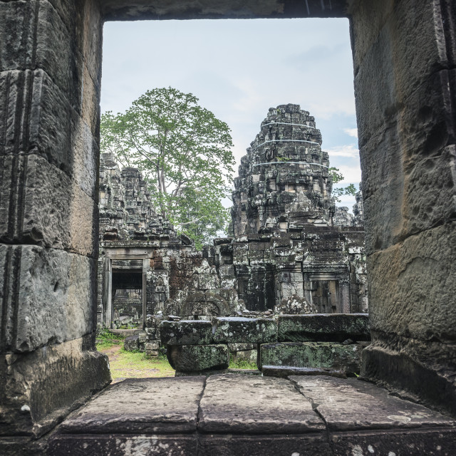 """""""Temple of Angkor"""" stock image"""