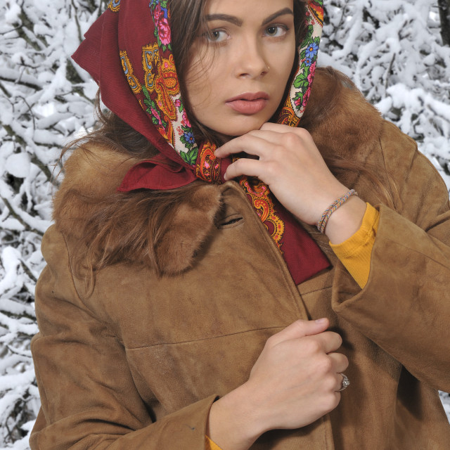 """Russian Woman"" stock image"