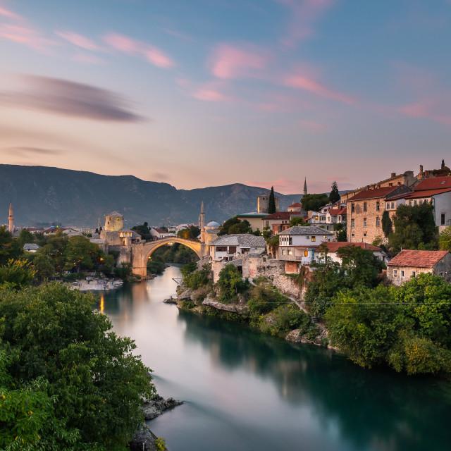 """Mostar, Bosnia and Herzegovina"" stock image"