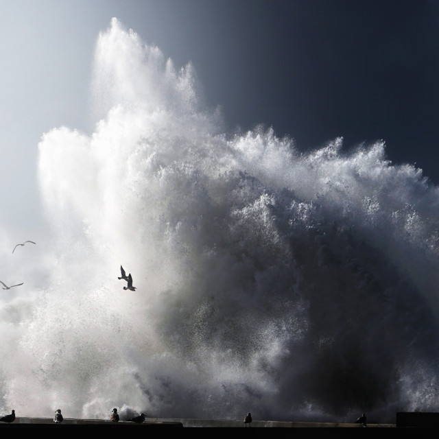 """A bigger splash"" stock image"