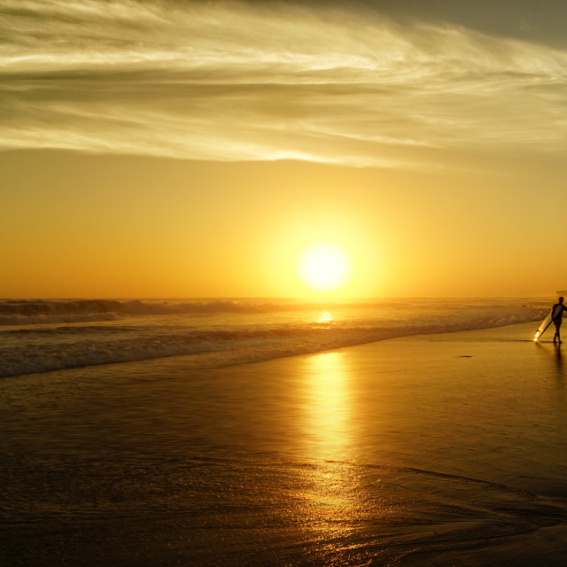 """Canggu Beach"" stock image"