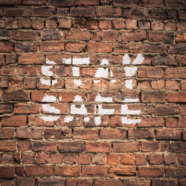 """Coronavirus Stay Safe Graffiti"" stock image"