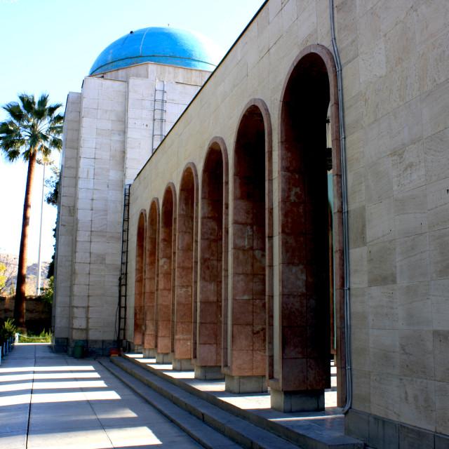 """""""Saadi's Tomb"""" stock image"""