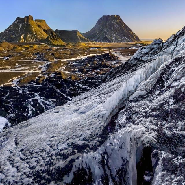 """Katla Ice Cave 03"" stock image"