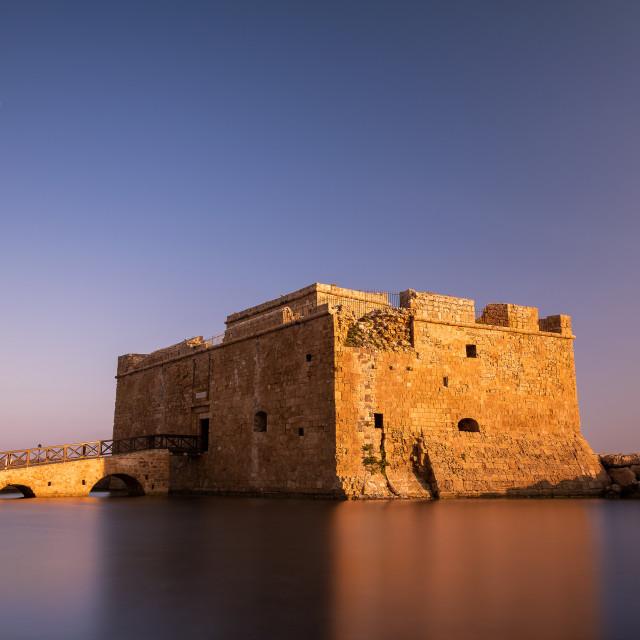 """""""Paphos Castle"""" stock image"""