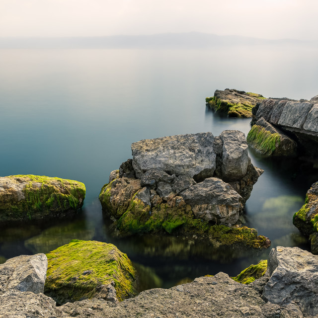 """Lake Ohrid, North Macedonia"" stock image"