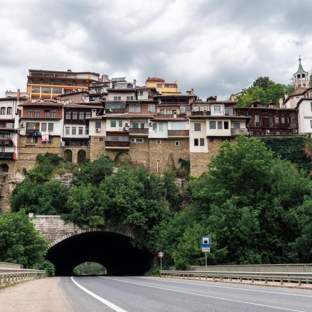 """""""Veliko Tarnovo, Bulgaria"""" stock image"""