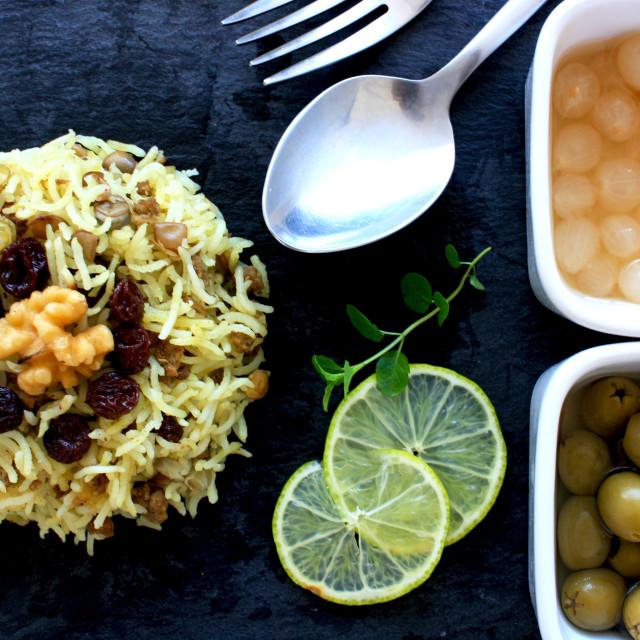 """Iranian Food"" stock image"