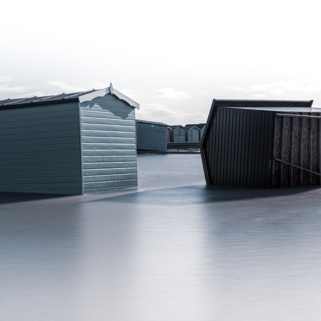 """Brightlingsea Storms"" stock image"
