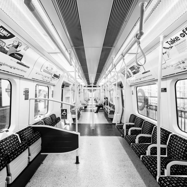 """High Street Kensington London Underground - London, UK"" stock image"