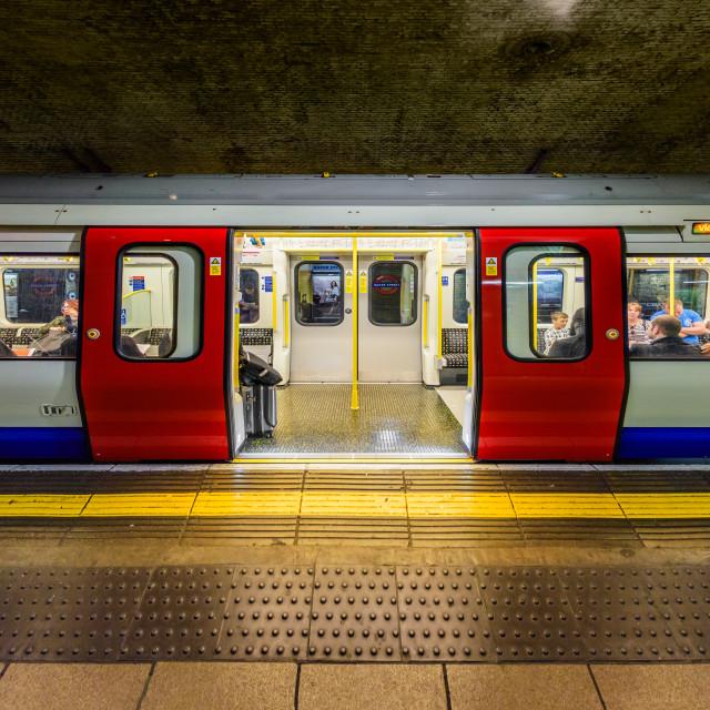"""""""Baker Street Tube Station II - London, UK"""" stock image"""