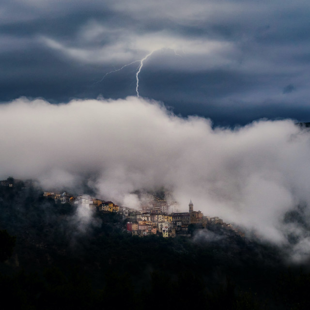 """Castel Di Sangro"" stock image"