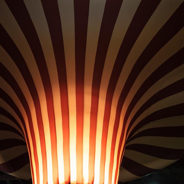 """""""Retro Hot Air Balloon"""" stock image"""