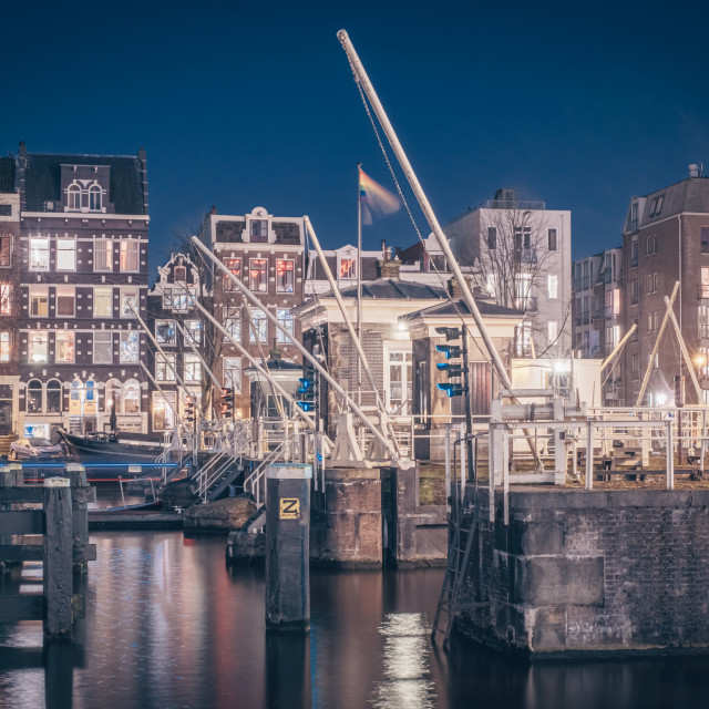"""Canal Docks"" stock image"