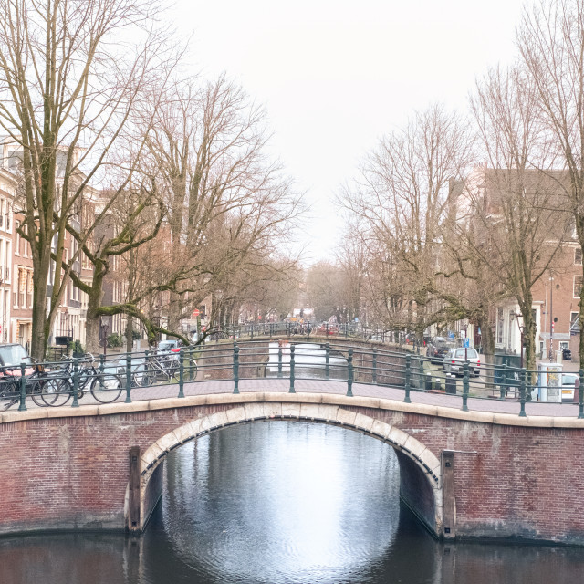 """Early Morning Amsterdam"" stock image"