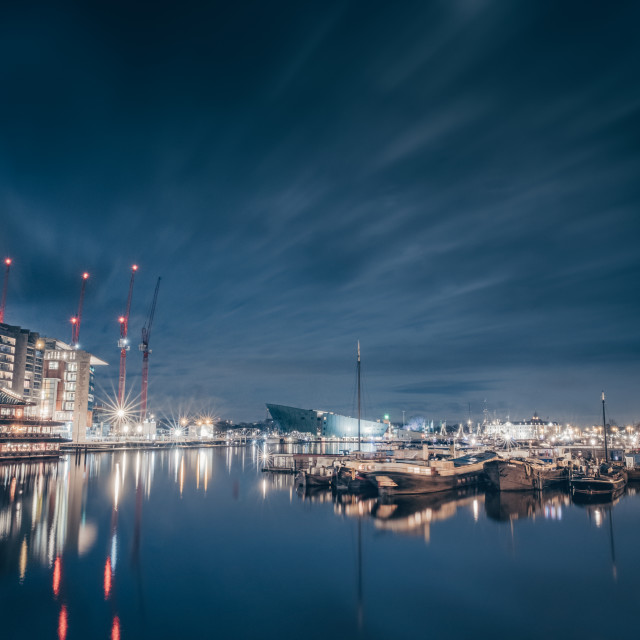"""Quayside"" stock image"