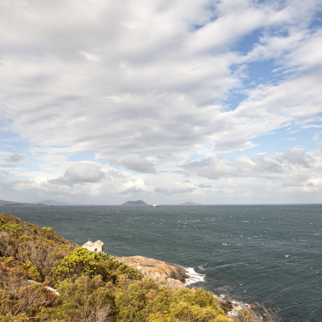 """Albany Western Australia View from Point King towards the Frenchman Bay"" stock image"