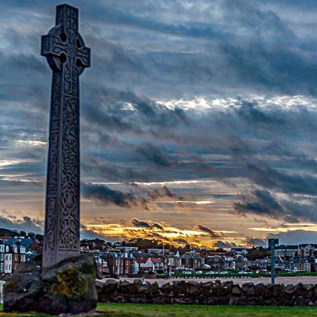 """The Cross of Dunbar"" stock image"