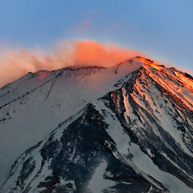 """Mount Fuji 01"" stock image"