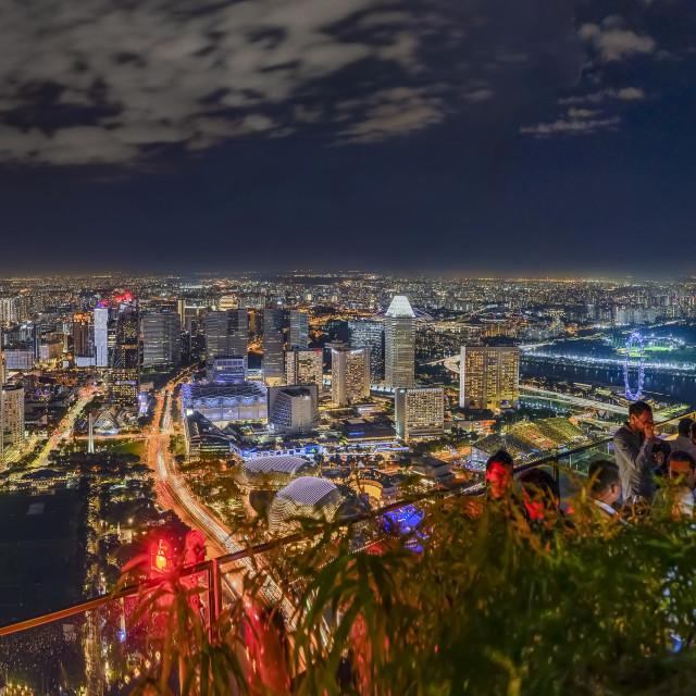 """""""Singapore Cityscape"""" stock image"""