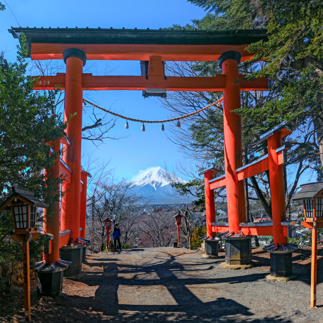 """Mount Fuji 02"" stock image"