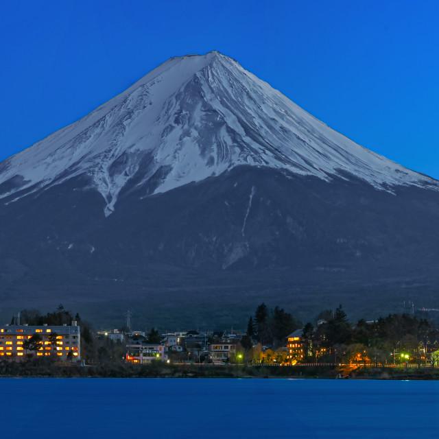 """Mount Fuji 03"" stock image"
