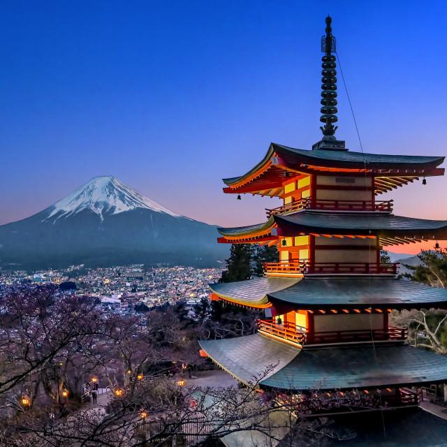 """Mount Fuji 04"" stock image"