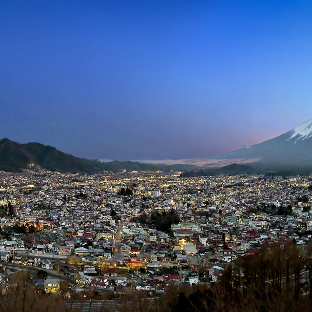 """Mount Fuji 05"" stock image"