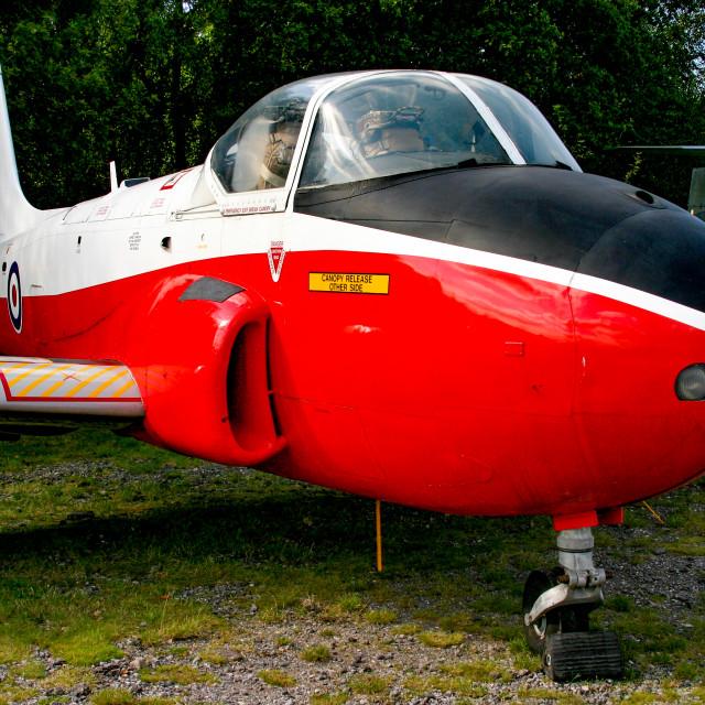 """Hunting Percival Jet Provost T.4"" stock image"