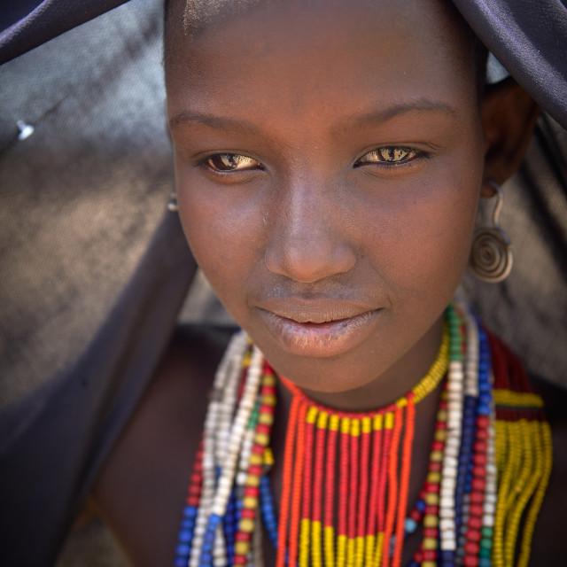 """Hamer Tribeswoman"" stock image"