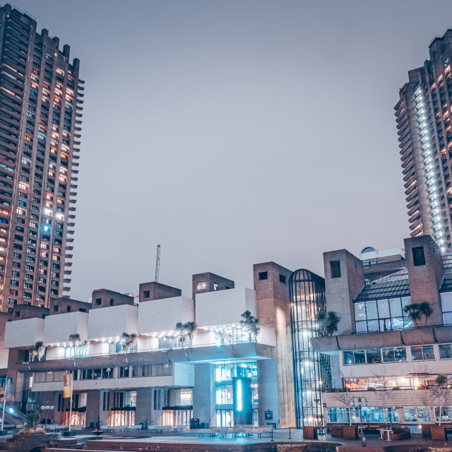 """Non-identical Towers"" stock image"
