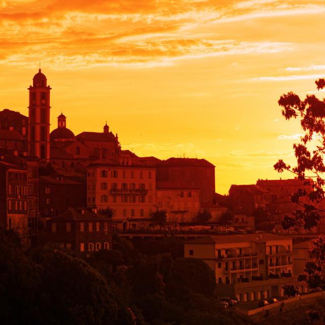 """Cervione city"" stock image"