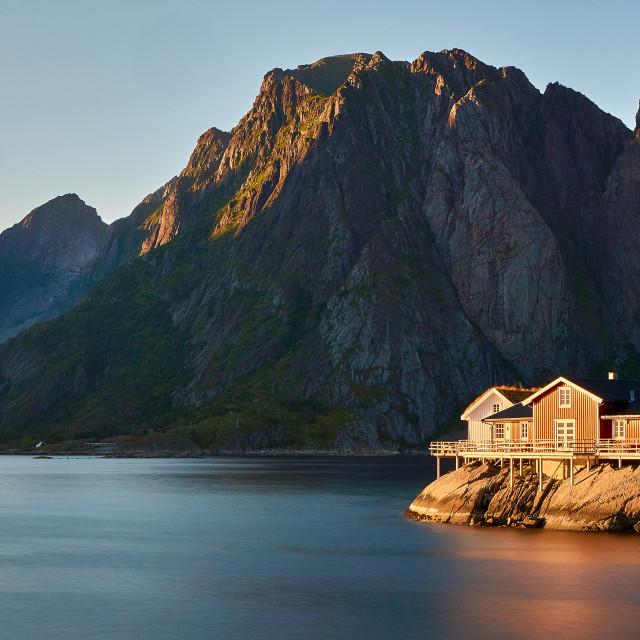 """Hamnøy Home"" stock image"