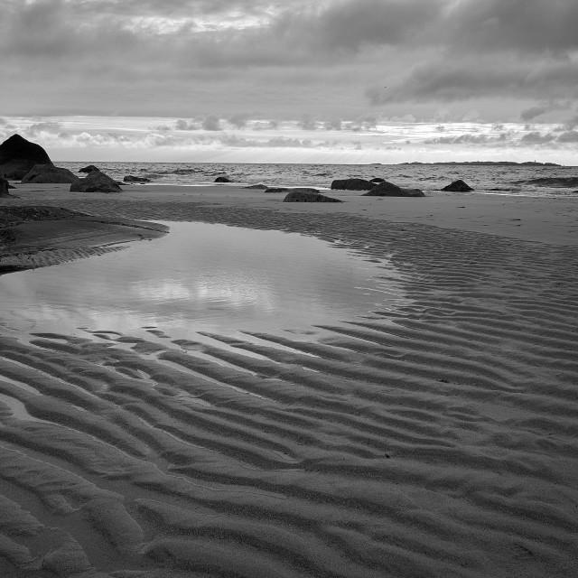 """Sand Ripples"" stock image"