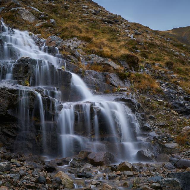"""""""Norwegian Waterfall"""" stock image"""