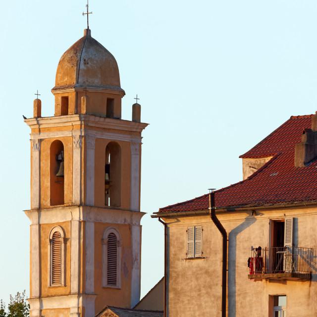 """""""Santa-Maria-Poggio"""" stock image"""