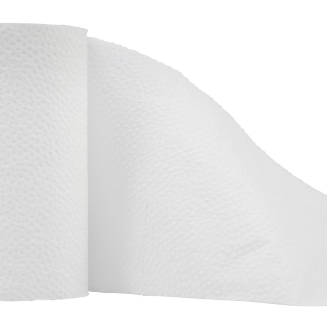 """""""Isolated Toilet Paper"""" stock image"""