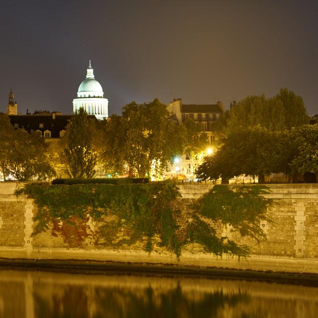 """""""Panthéon de Paris"""" stock image"""