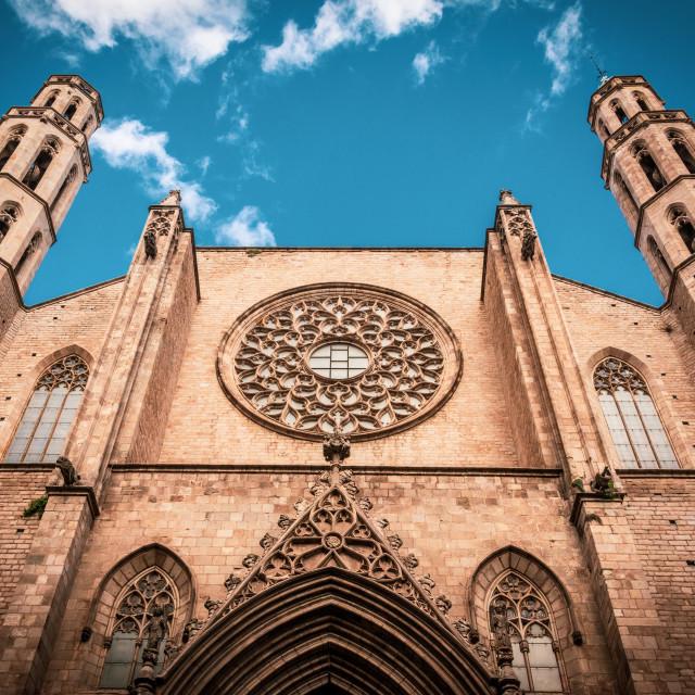 """""""Santa Maria del Mar"""" stock image"""
