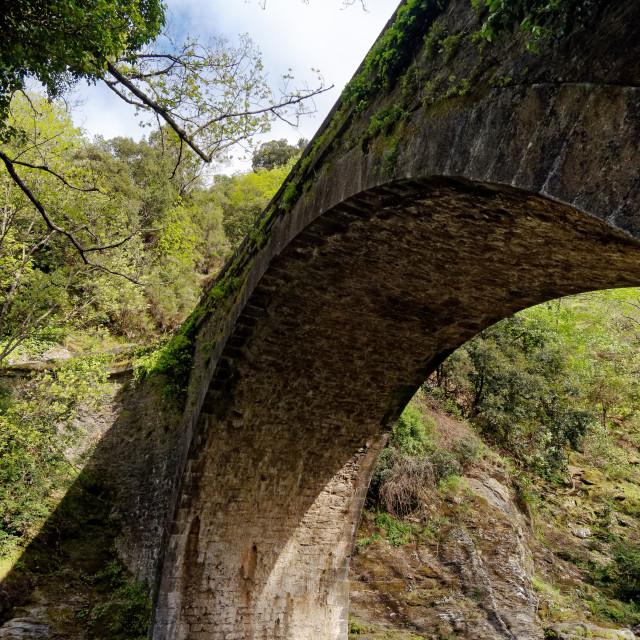"""""""Pont de l'Enfer"""" stock image"""