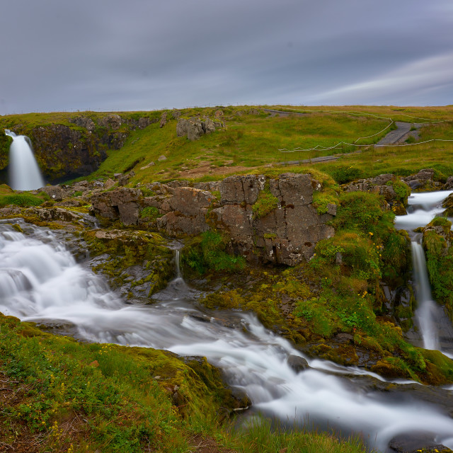 """Iceland Waterfall"" stock image"