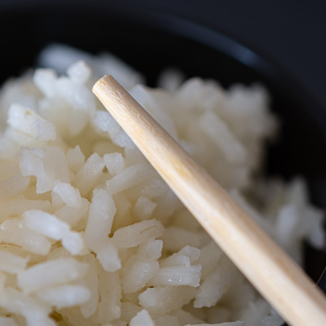 """""""Rice bowl with Chinese chopsticks"""" stock image"""