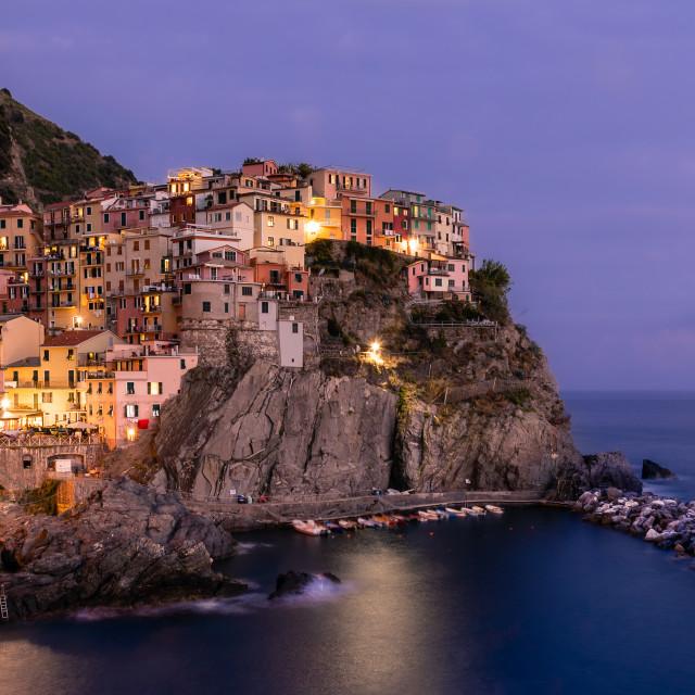 """""""Manarola, Italy"""" stock image"""