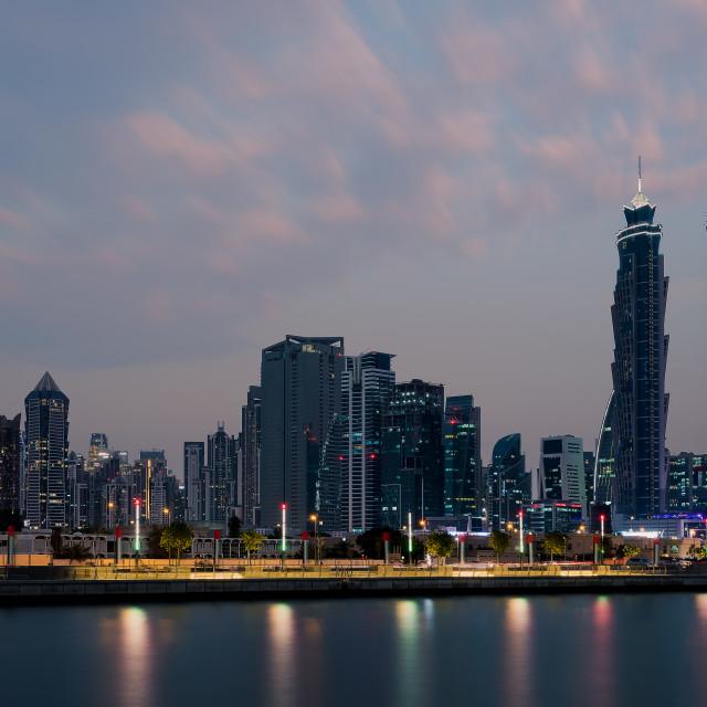 """Dubai Cityscape"" stock image"