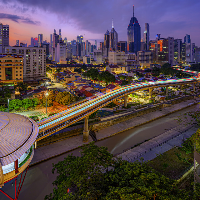 """""""View from Putramall KL"""" stock image"""