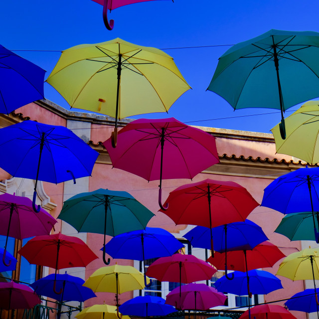 """Umbrella Sky"" stock image"