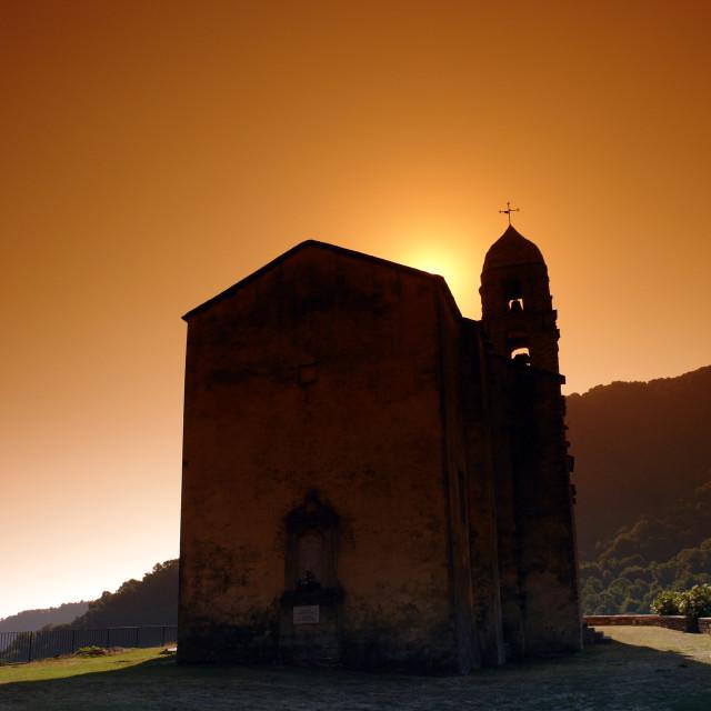 """""""Santa Reparata church"""" stock image"""
