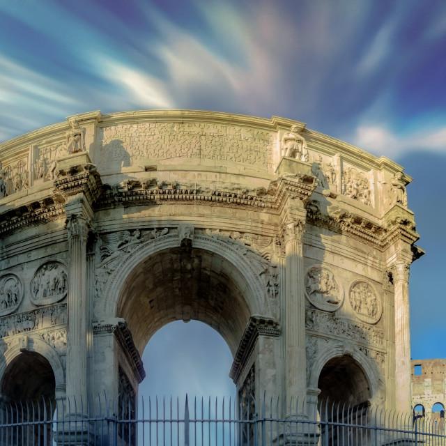 """""""Arco di Costantino"""" stock image"""